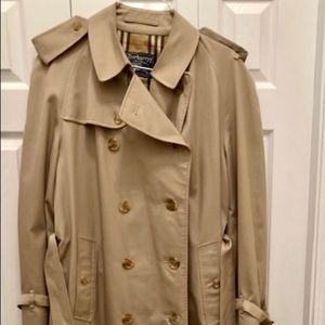 Burberry Double Breasted and Belted Men's Trench